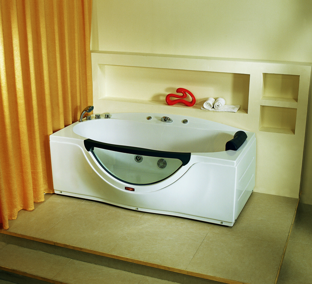 factory direct Sell OEM rectangle tub with low price bathtubs jacuzzi YSL-832DX