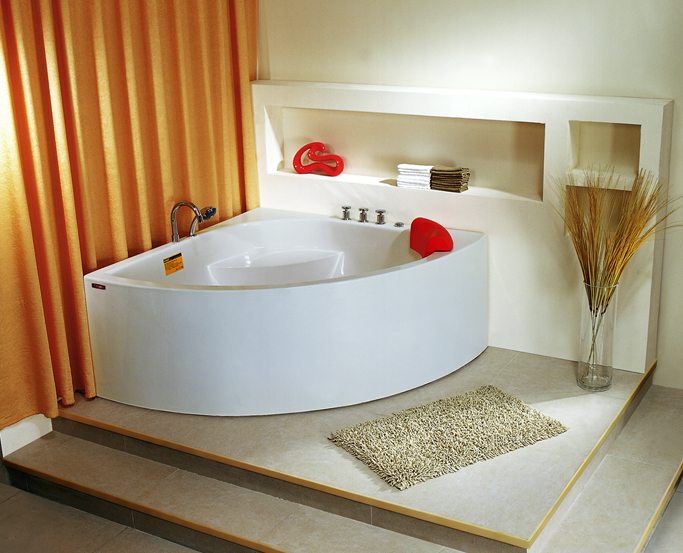 China supplier factory price acrylic bathtub with jacuzzi YSL-816