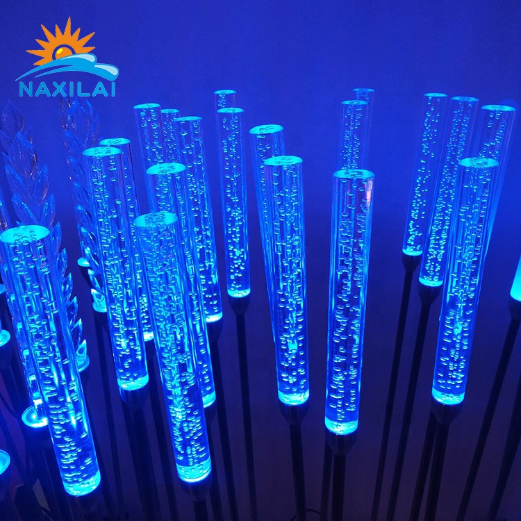 Naxilai Pmma Clear Acrylic Bubble Rod