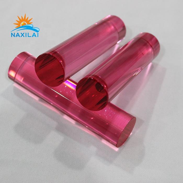 Naxilai Red Acrylic Rod