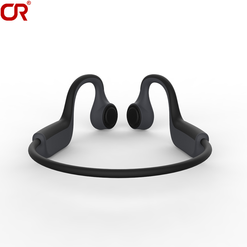 Sport Titanium Alloy Bone Conduction Headphones Bluetooth Wireless Open-ear Headset
