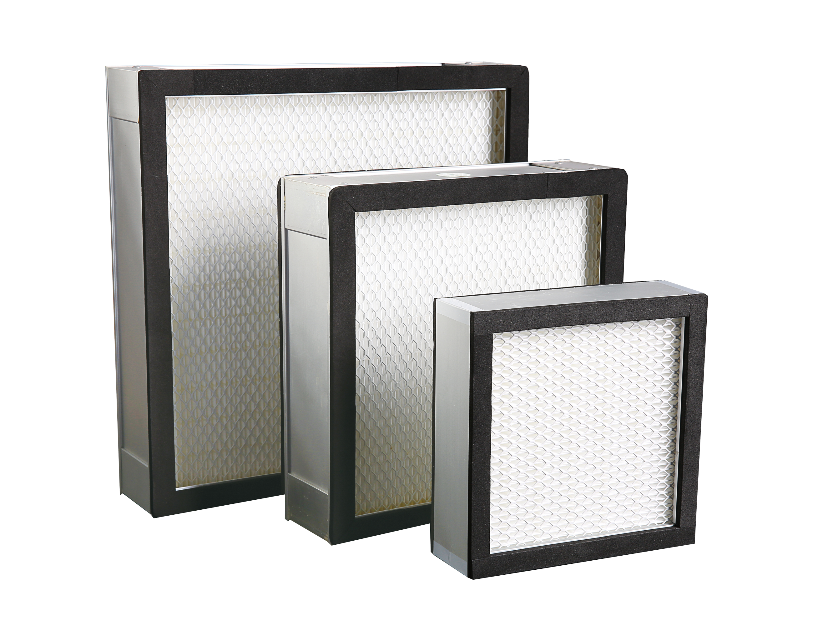 Mini pleated HEPA filter