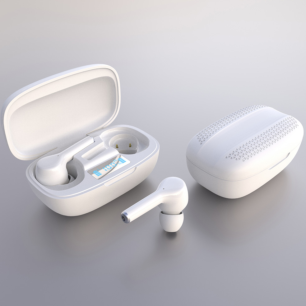 Factory Price Wholesales Best True Wireless Earbuds For Small Ears Built-in Mic with Deep Bass for Sports Work T10