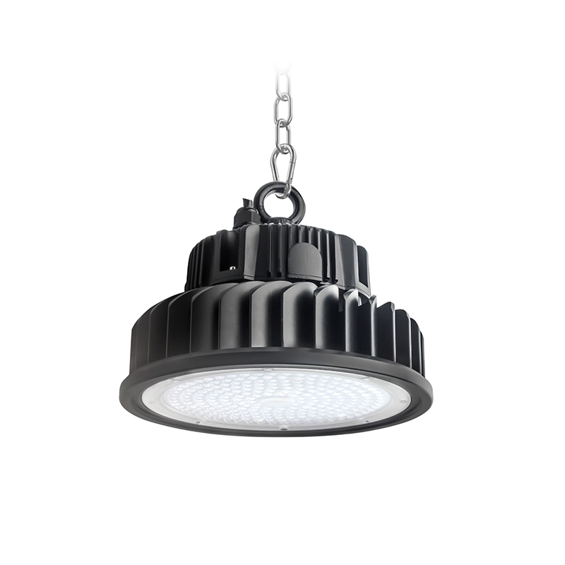 Cold-forging LED UFO highbay light with well heat dissipation performance