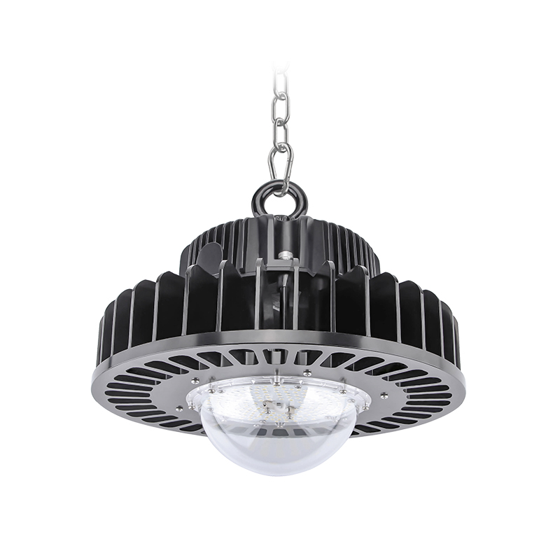 Cold-forging aluminum LED highbay upgrade to 800W high power available