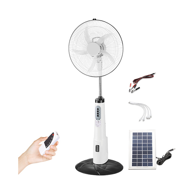 ac/dc rechargeable fan with led light