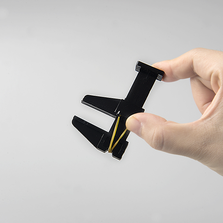 Nail Tool Black Plastic Positioning Clamp (1pc/bag)