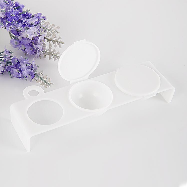Triple Plastic Dappen Dish
