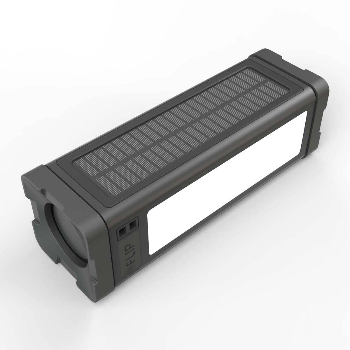 Блок питания на солнечной батарее 5000 мАч с динамиком Bluetooth 20 Вт, светодиодные фонари 27 шт.