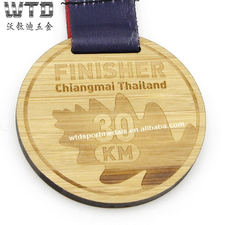 Medals Made of Wood