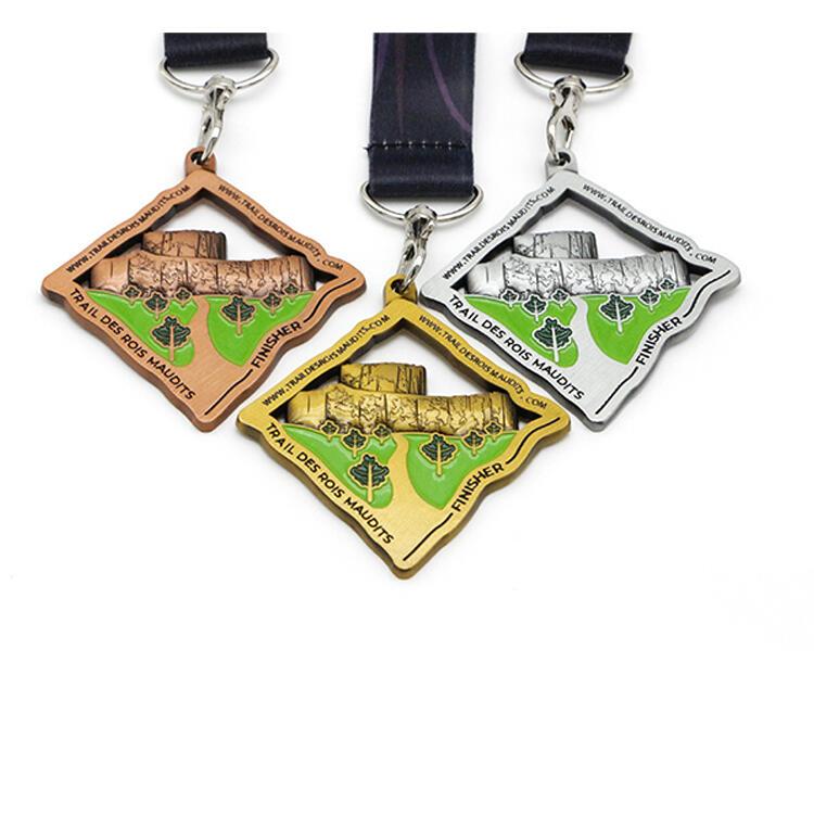 100k Marathon Running Medal