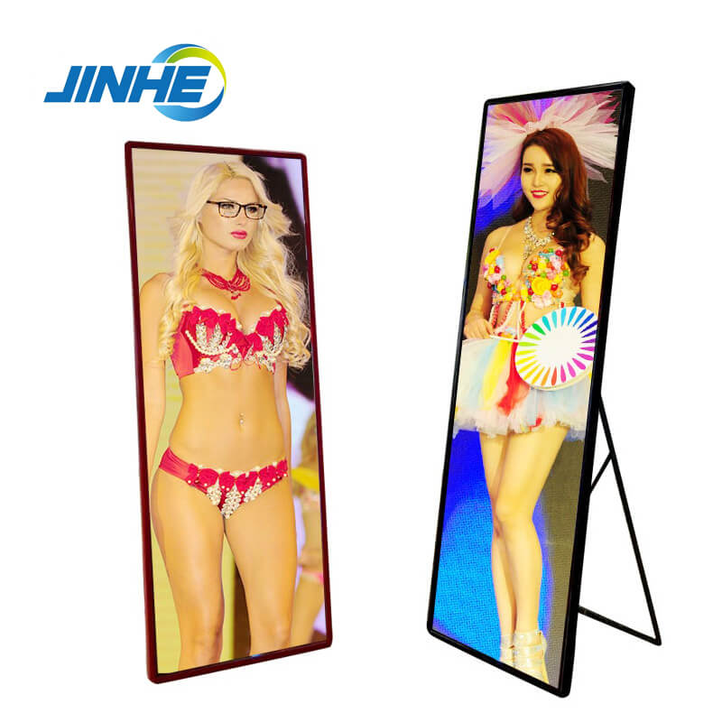 Indoor Poster LED Screen Display With WIFI Control