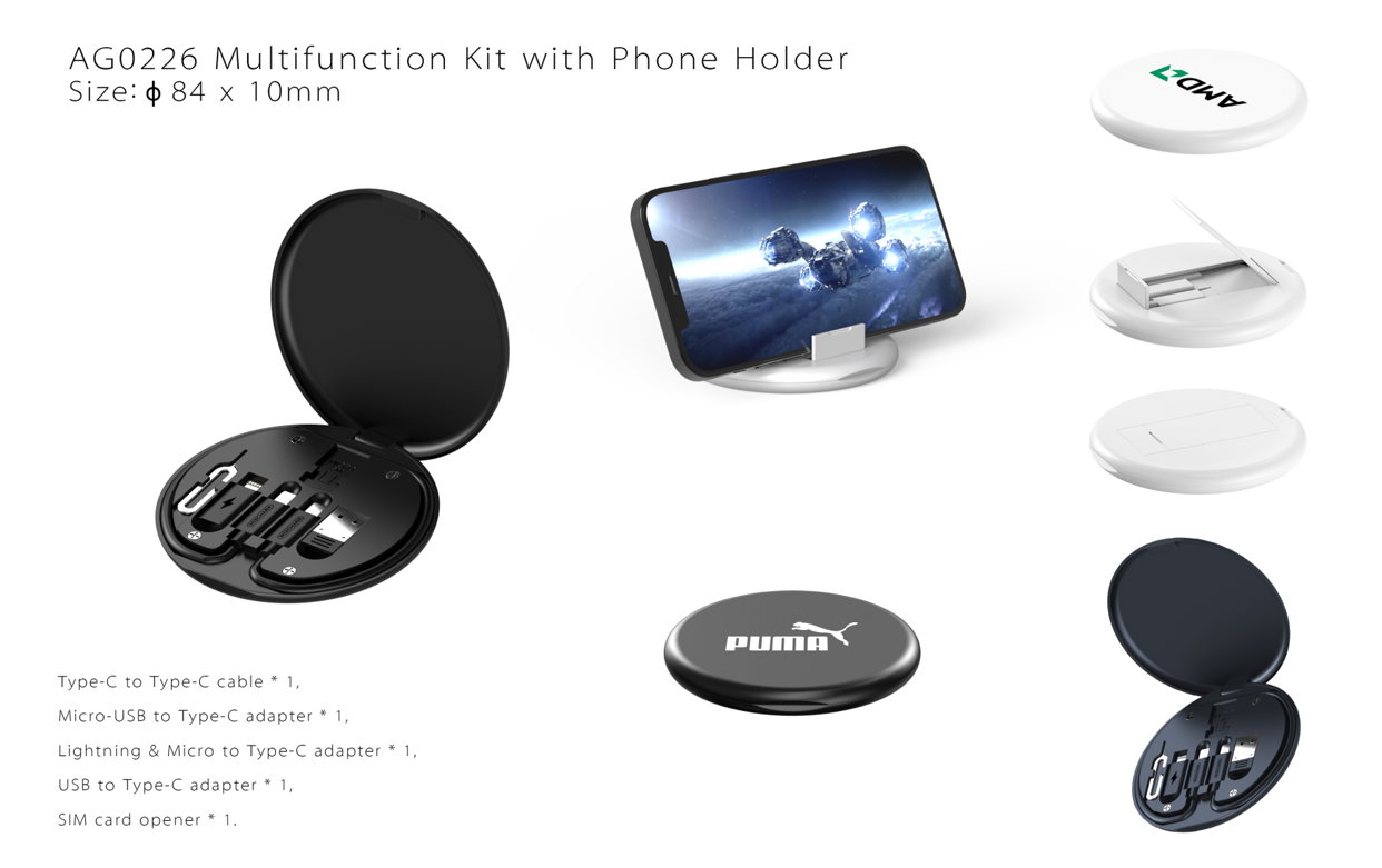 Multifunction Kit with Phone Holder