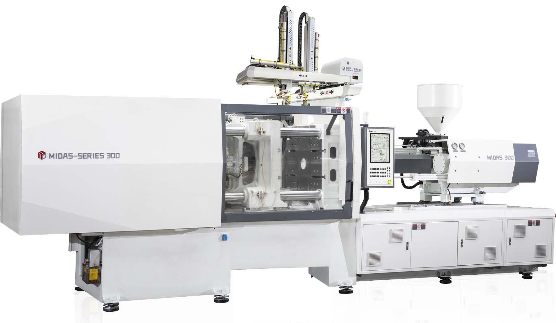 Machine de moulage par injection haute performance série MIDAS