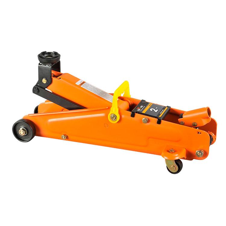 2T Portable Trolley Hydraulic Floor Jack Auto Tools