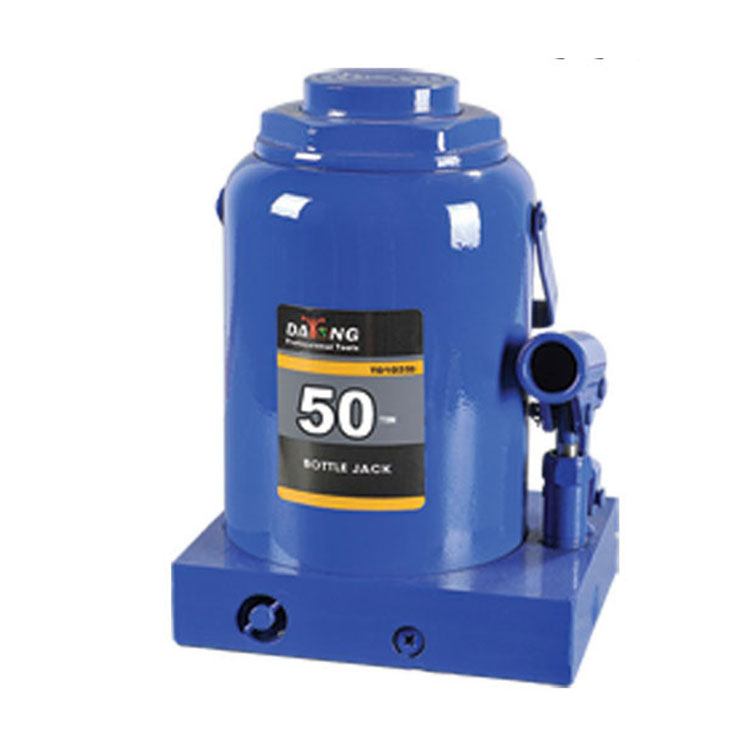 Low Profile Heavy Duty 50 Ton Hydraulic Bottle Jack with CE GS Auto Tools