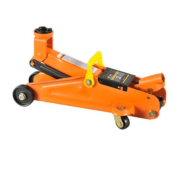 Portable Hydraulic Car Jack 2Ton Manual Floor Jack with Wheels TUV GS