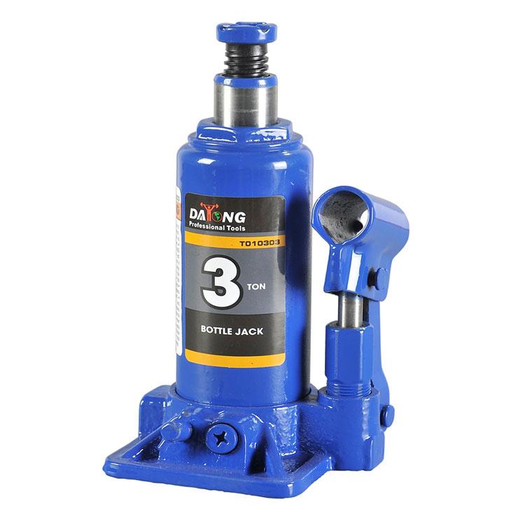 New 3 Ton Low Profile Bottle Jacks CE GS Hydraulic Automotive Shop Lift