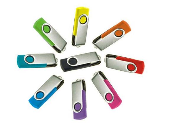 Best Selling Twister USB Flash Drive Lazer Logo Key 8gb 4gb Promotional Gift Dome printing Memory Stick