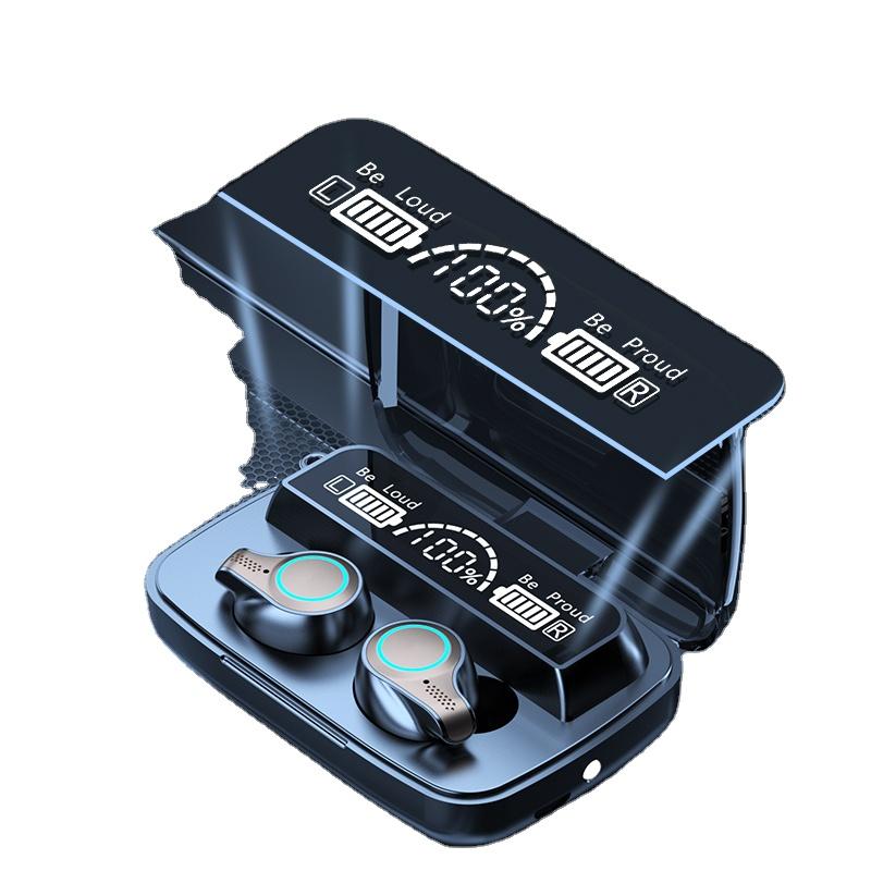 Newest BT Earbuds With Charging Case Waterproof Headphone Stereo Microphone TWS Wireless Earphones