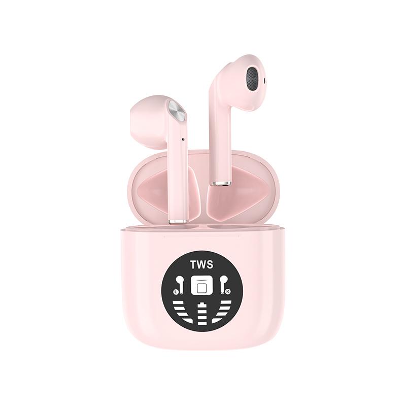 Colorful TWS true wireless Bluetooth earbuds half-in-ear earphone IPX5 waterproof Comfortable wearing Headphones