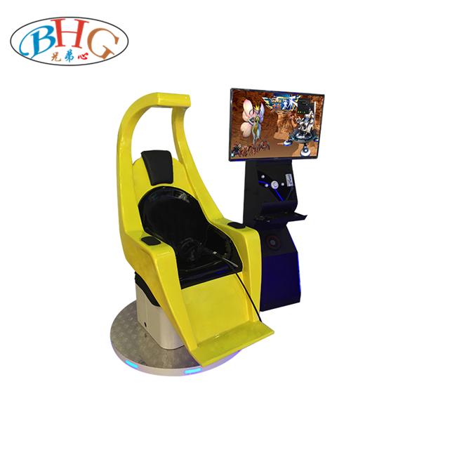 9d virtual reality amusement htc machine interactive video game magic shooting simulator for vr theme park