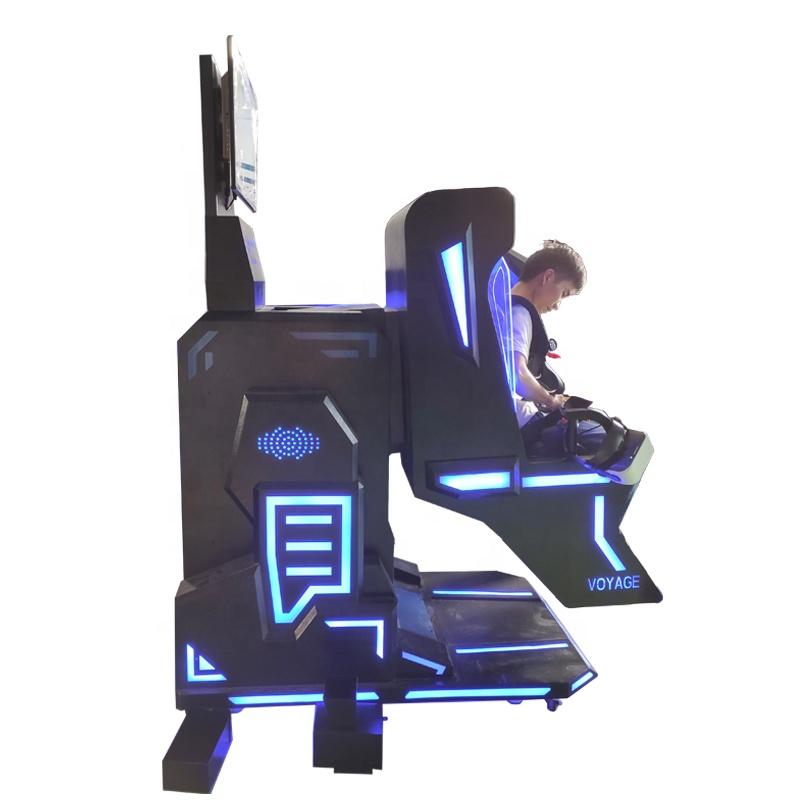 2020最新酷炫360度运动射击模拟器游乐园vr设备