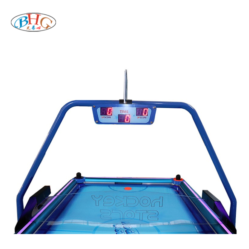 2021 New Style Kids and adult play coin pusher air hockey table game machine