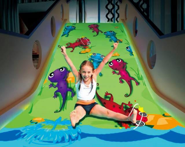 游乐场设备软操场互动投影游戏儿童互动AR地板游戏