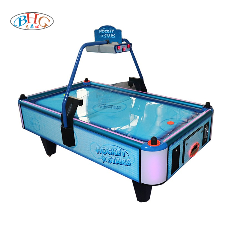 2021 newest coin operated air hockey table for arcade game center/family/mall