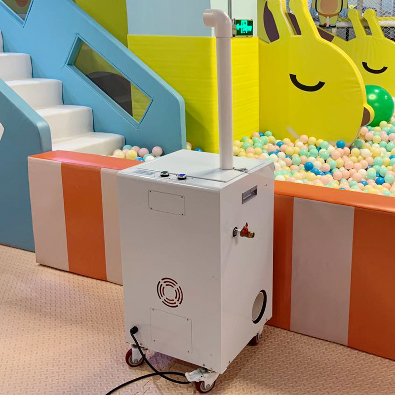 2021 hot sell ball cleaning  washing  sterilization machine for kids ball pit pool and soft  playground in amusement park