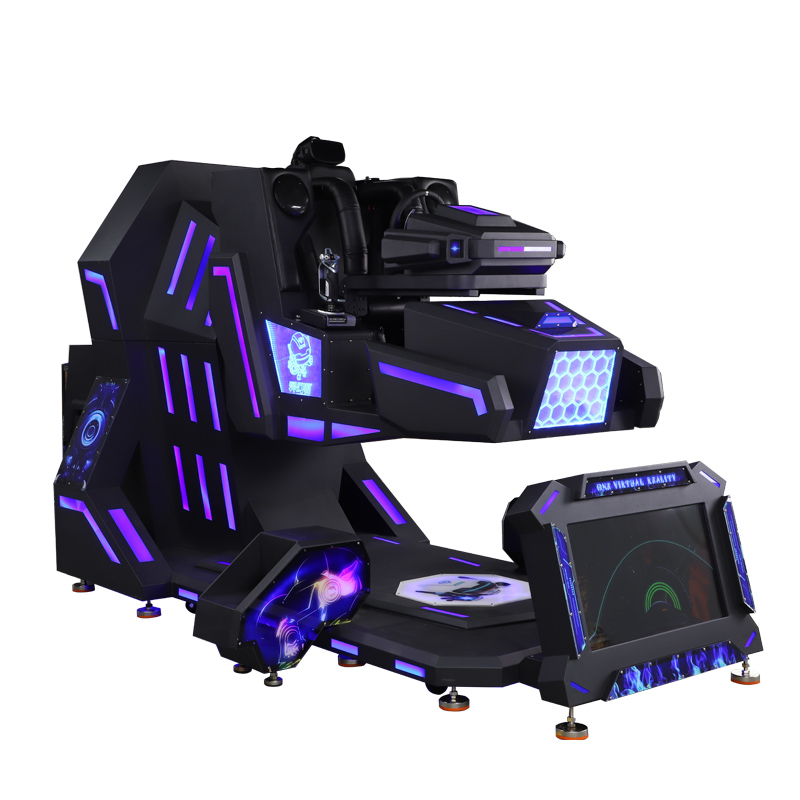 2021 newest factory wholesale play car 9d vr moto racing rotation simulator or terminator for amusement park supplies