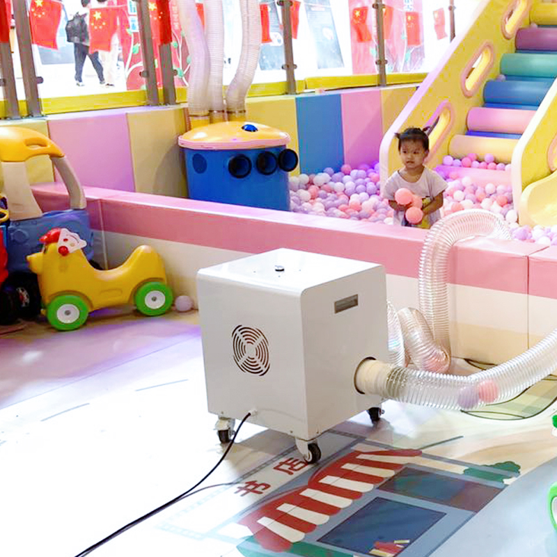 2021 eco friendly cheap mini ball cleaning washing equipment for ball pit pool and soft play area in amusement park