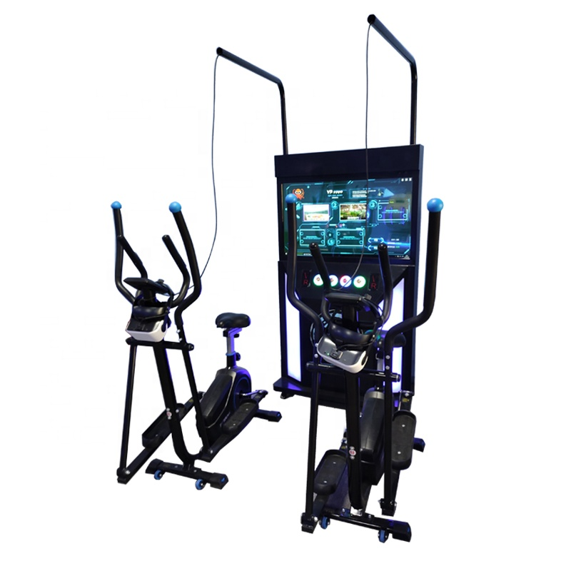 2021 newest earn money vr sport magic racing vr bike simulator for gym exercise