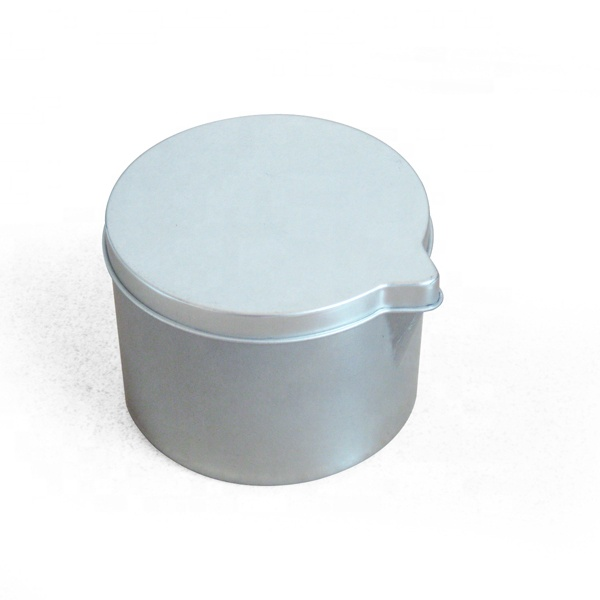 Aceeptable OEM Factory Candle Holder Metal Tin Customized Packaging Tea Tin Saffron Packaging Can