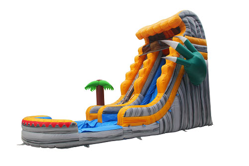 Dinosaur Claw inflatable water slide