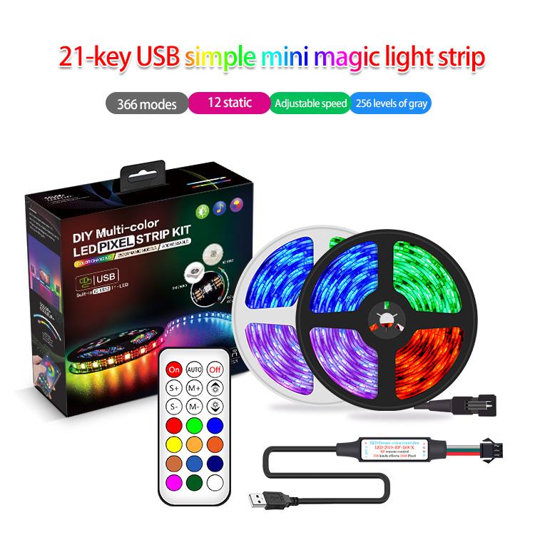 Symphony 21-key USB light strip kit
