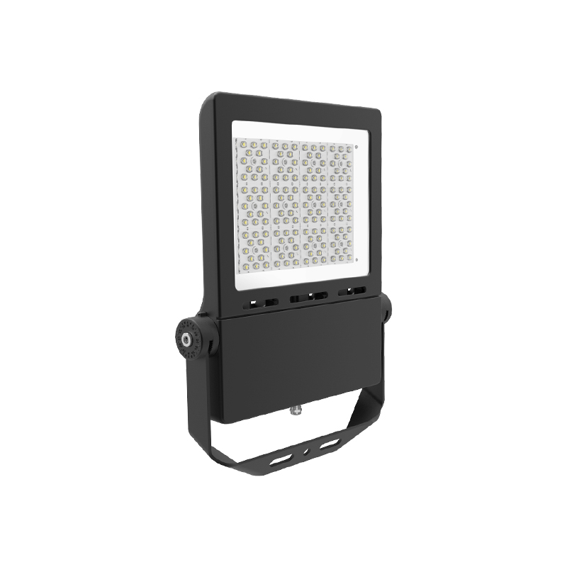 Hot selling Outdoor IP65 LED Flood light 300W Accurate adjustable mounting breaket multiple lens options
