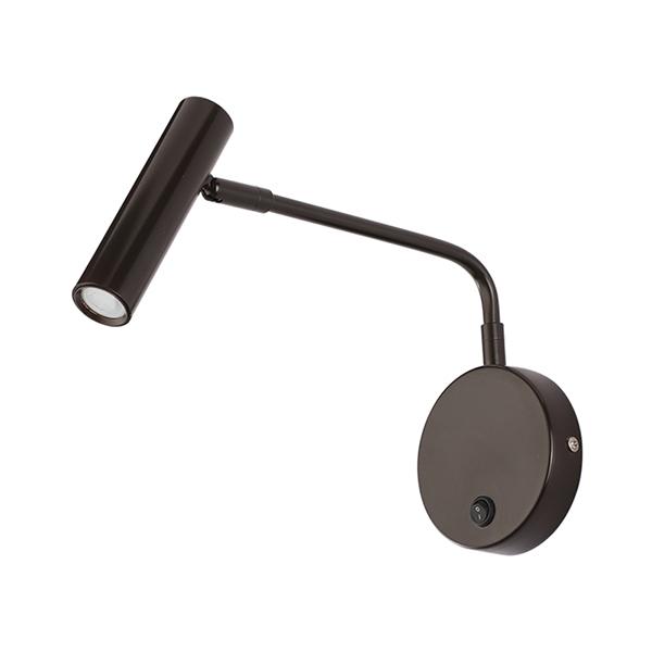 Black LED Reading Wall Lamp