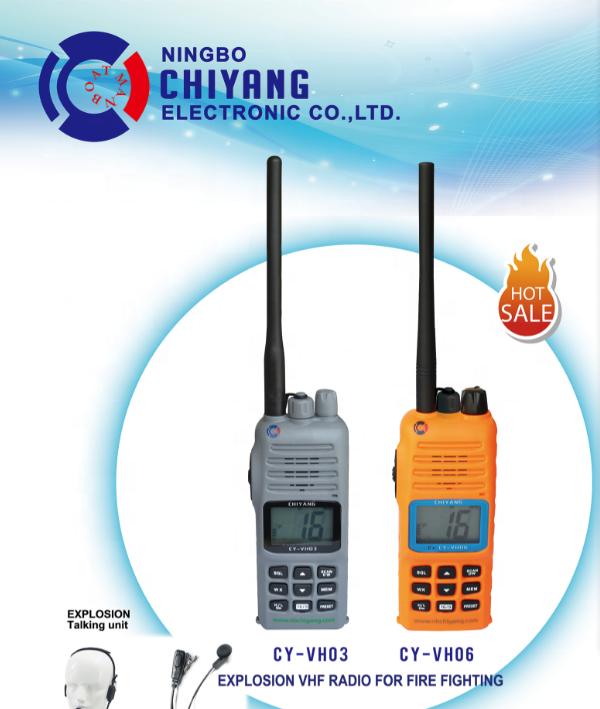 VHF Intrinsically Safe Marine Radio