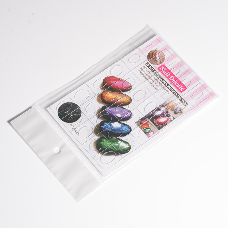 Hot sell nail stick in sticker&Decals for Nail decoration