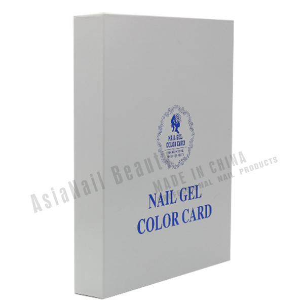 UV Nail Gel Polish 120 Colors Nail Art Display Color Book Chart Salon Acrylic Gel Tips Display Color