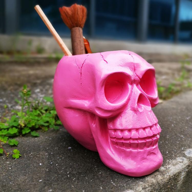 Skull Shape Storage Box