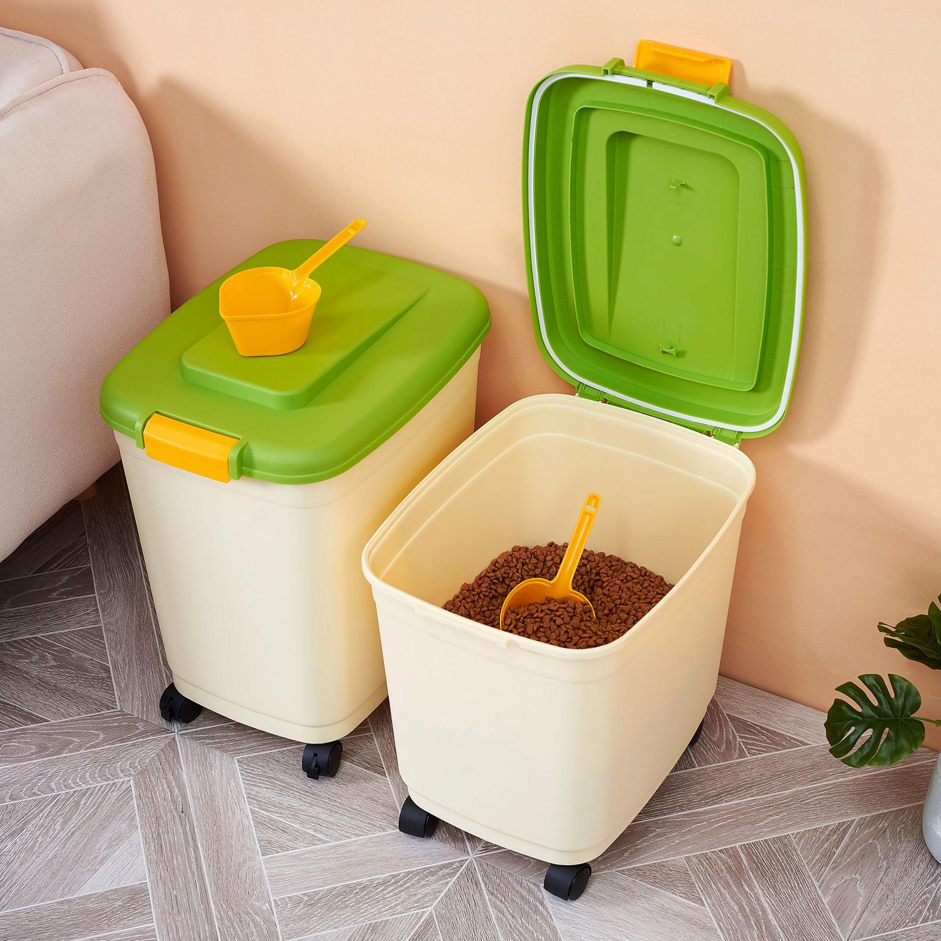 STROBIGO Airtight Pet Dog Food Storage Container with Lid