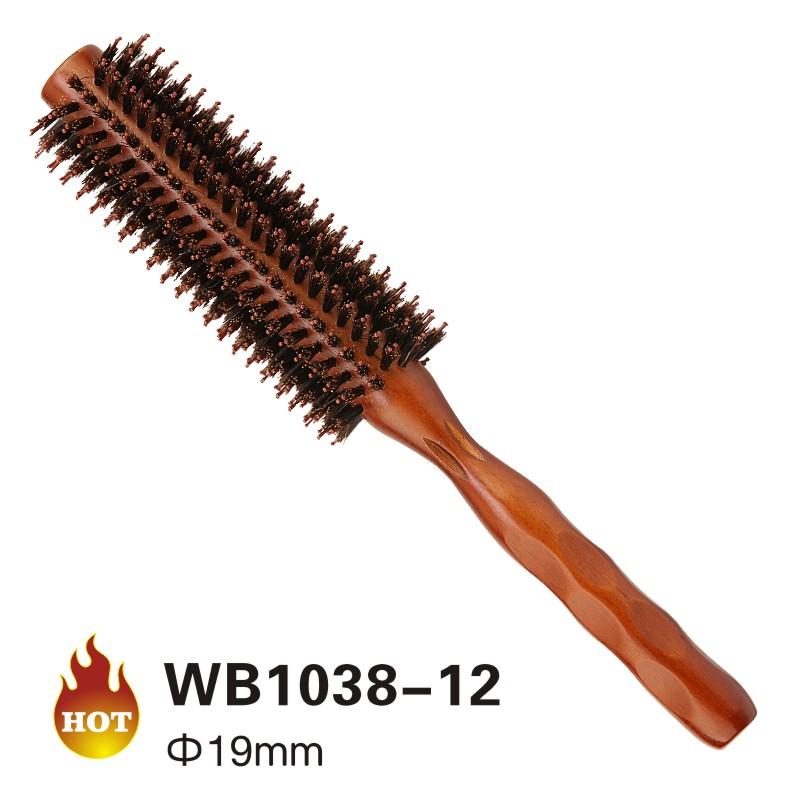 Wooden round brush