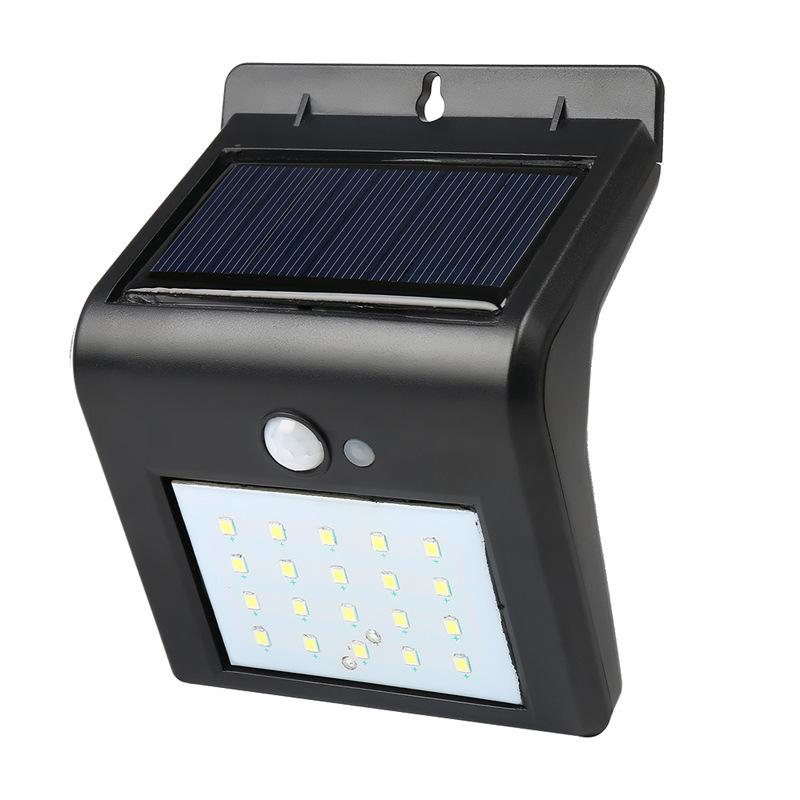 New design street lights outdoor 16 LED motion sensor wall waterproof IP65 solar light