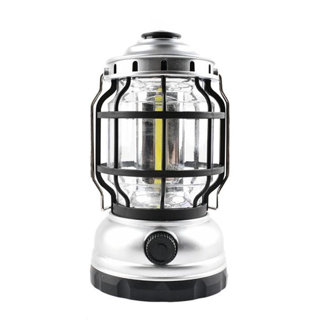 3*AA Vintage stepless dimming camping lantern