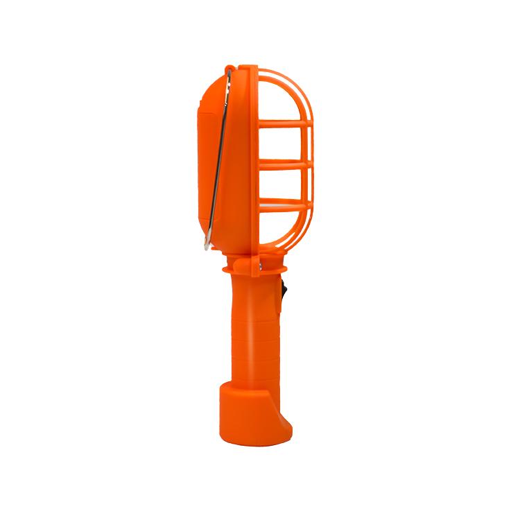 Portable ABS Orange 3*AA Battery 3W Cob Led Work Light For Car Repair