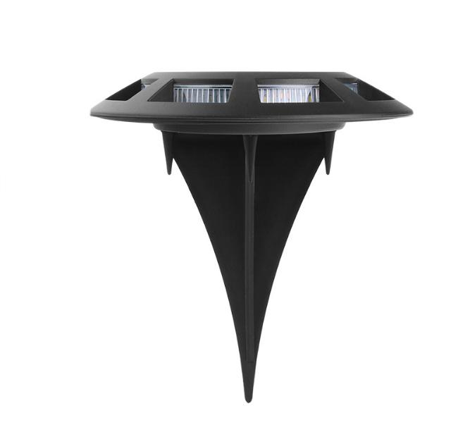 Outdoor garden round plug waterproof IP65 for garden decorative solar ground lights