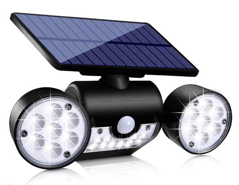 3 mode channel design wall LED road garden outdoor waterproof IP65 motion sensor solar light
